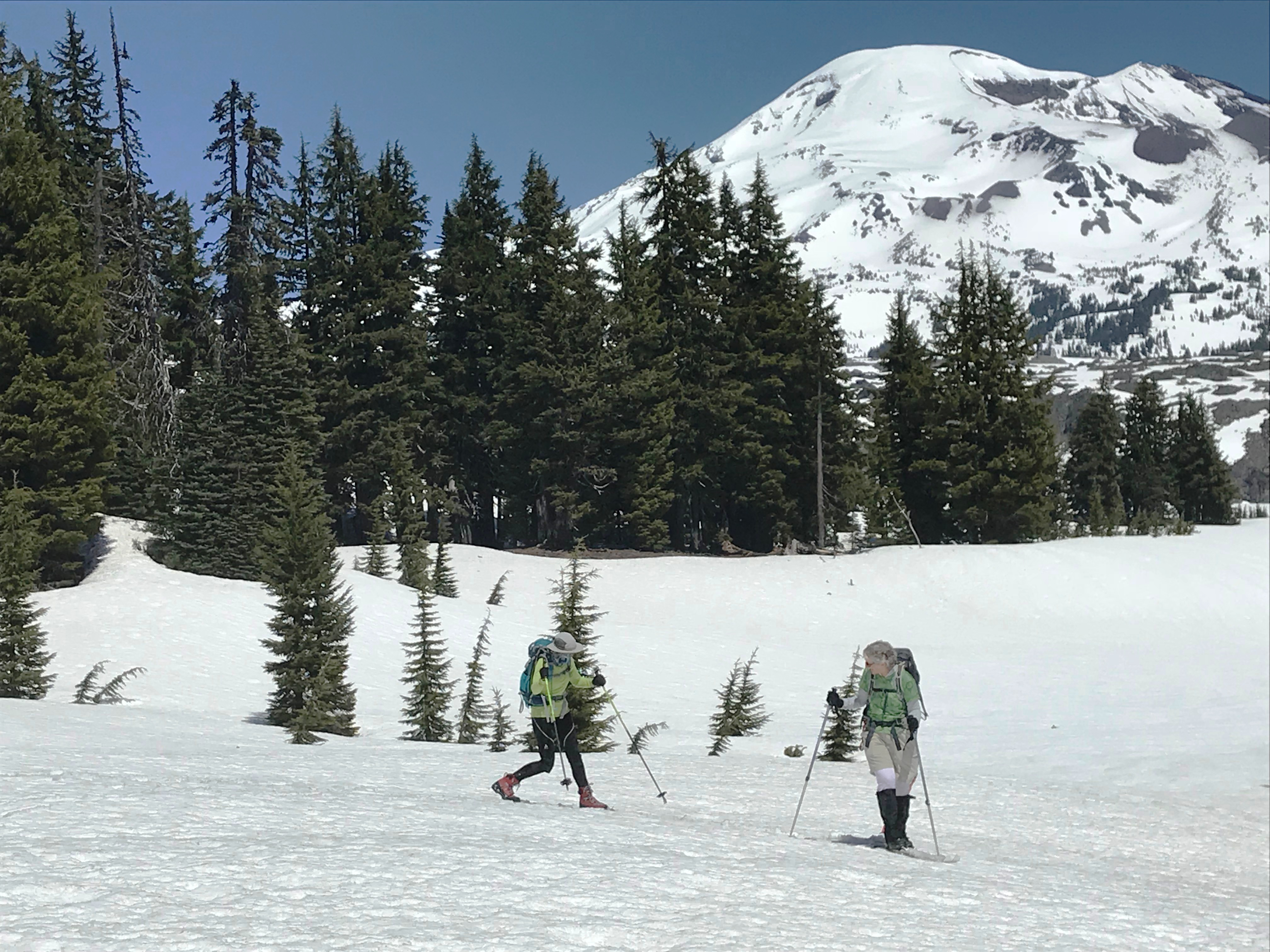 CONC Members Do Wilderness Ski To Wickiup Plains