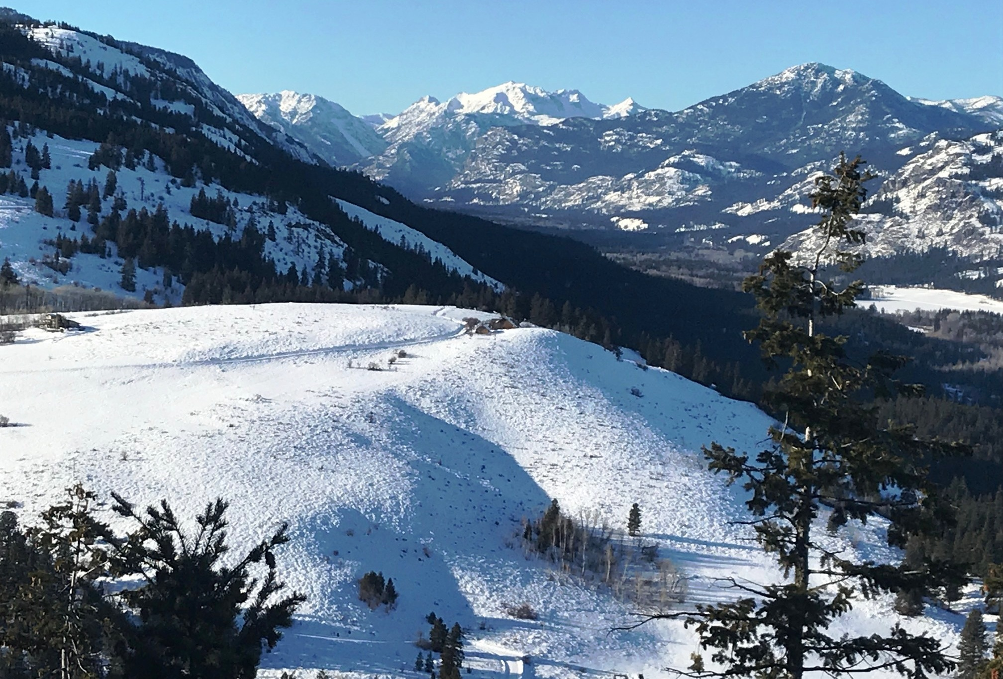 Cold Temps, Good Snow In Methow Valley