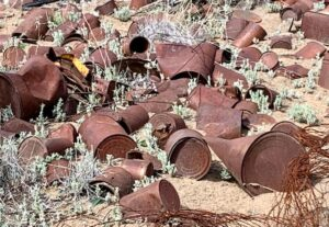 Rusting Cans in the Badlands and Oregon History