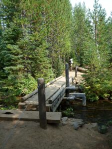 A New and Safer Bridge for the South Fork of Tumalo Creek