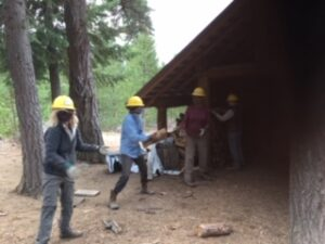 3.	CONC Volunteers Continue to Stock Shelters with Firewood for Winter